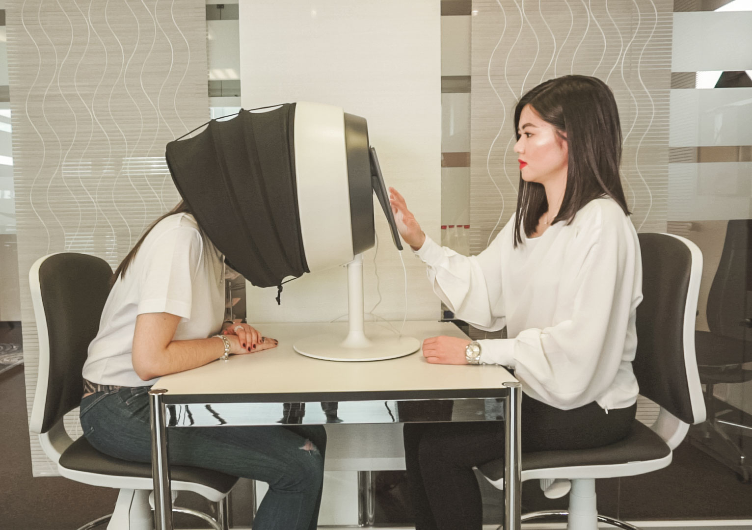 KSAE Korean Beauty Care Stuttgart Professionelle Hautanalyse mit Observ
